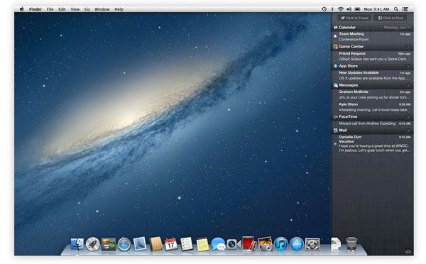 Escritorio de Mountain Lion