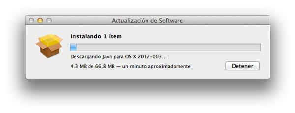 Actualizacion Java OS X