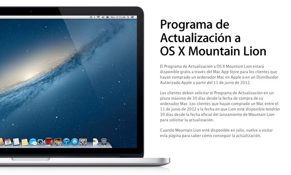 Mountain Lion Gratis