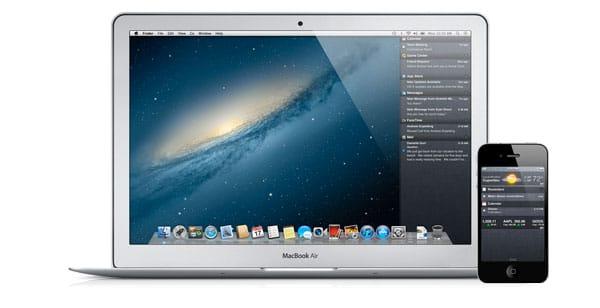 Centro Notificaciones MacBook Air