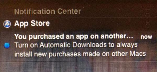 Descargas automáticas OS X