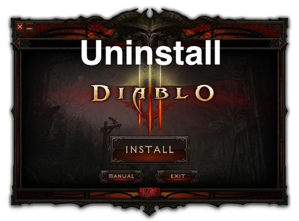 Desinstalar Beta Diablo III