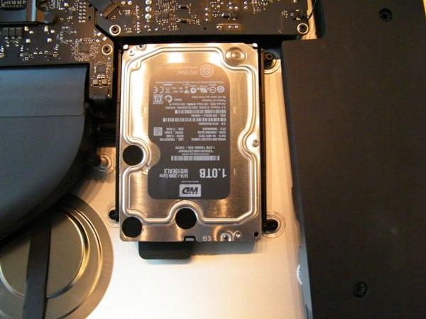 Disco duro iMac 27 pulgadas