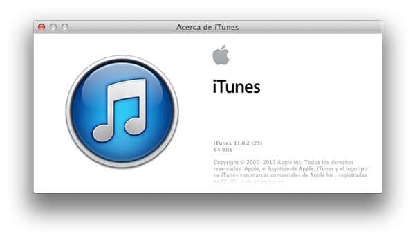 Atajos de teclado iTunes 11