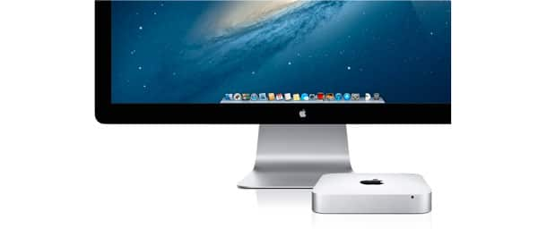 Mac Mini con Thunderbolt Display