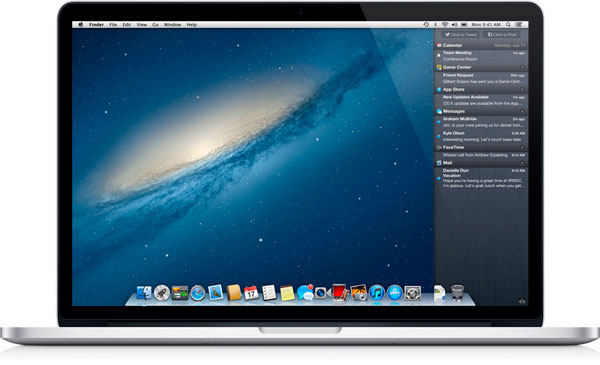 Mountain Lion MacBook Pro