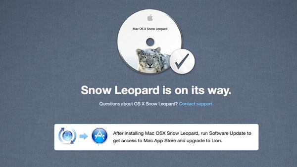 Pedido Snow Leopard