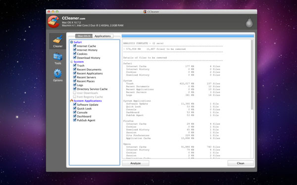 ccleaner mac Aplicaciones imprescindibles para nuevos usuarios de Mac