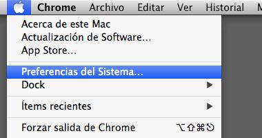 preferencias del sistema mac Cómo Solucionar Problemas de WiFi Lento en Mac con Mavericks