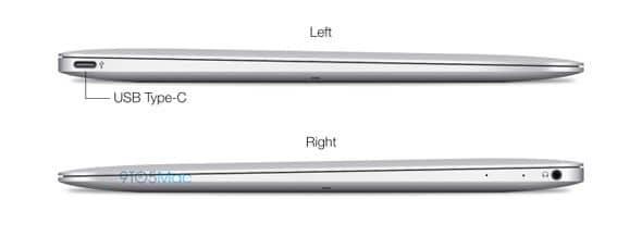 Puertos MacBook Air