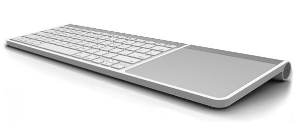 Dock para Magic Trackpad y Teclado