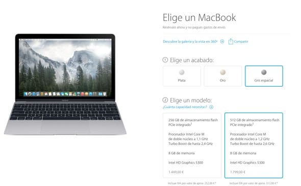 Nuevo MacBook disponible en pre-venta