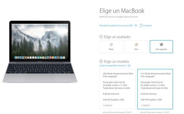 Nuevo MacBook disponible en pre-venta