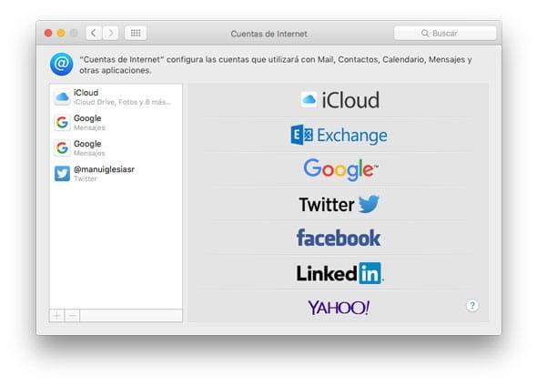 Configura Mail en tu nuevo Mac