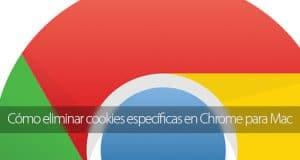 Cómo eliminar cookies específicas en Chrome para Mac