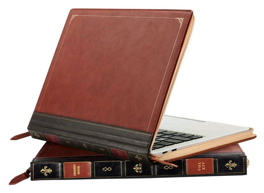 Carcasa con forma de libro