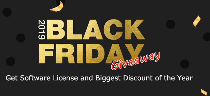 Licencias gratis y descuentos del 50 % con el Black Friday